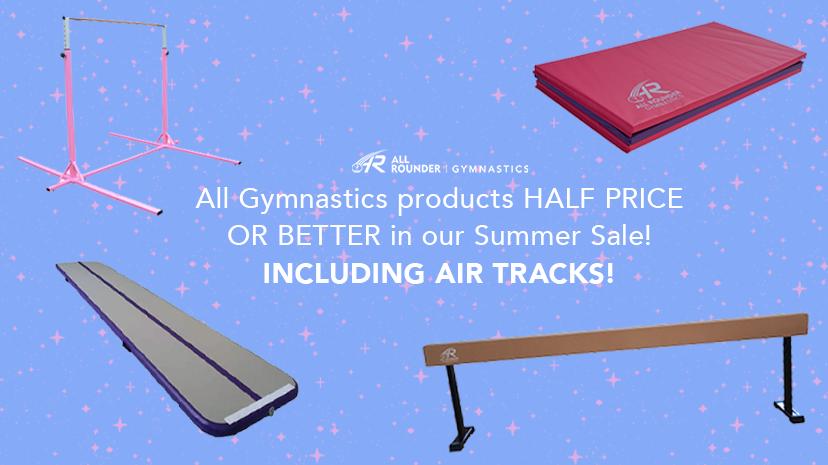 Half price gymnastics sale